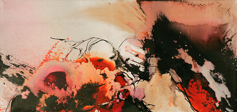 APART OF ME _ figures in situation, (2006) 60 x 125 cm (24 x 49 inch)