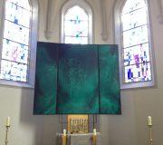 Obertheres St. Kilian  Flügelaltar ca 280 x 400 cm 2012