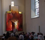 Obertheres st kilian Seitenaltar ca 380 x 360 cm 2012