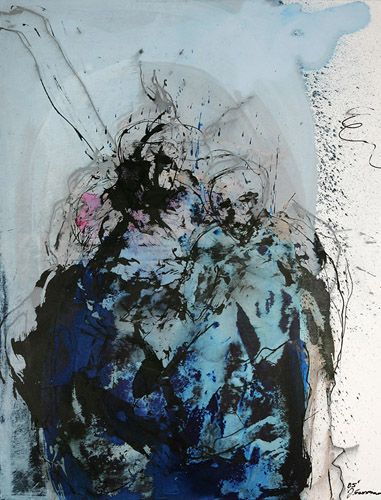 o.t., (2005) 140 x 110 cm (55 x 43 inch